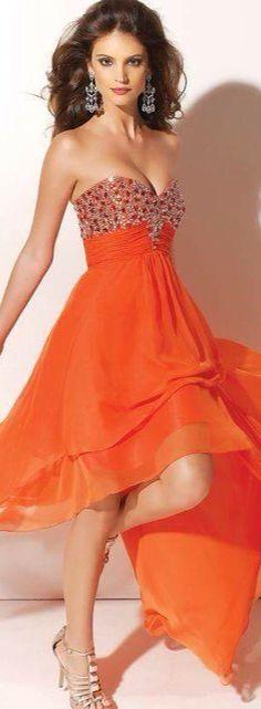 Flowing Orange Crush