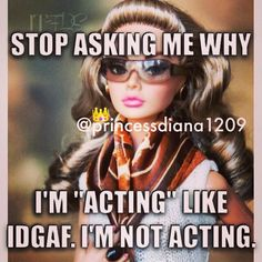 People Need To Realize, Once I'm Fed Up, There's No Acting!