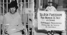 "The Night of Terror: 100 Years Today (November 14, 2017) , Women Were Beaten and Tortured For the Right to Vote - Remembering the forgotten history of the Women's Suffrage Movement's ""Night of Terror"": When we tell our children about the fight for women's suffrage in America, we often tell a sanitized version of the story."