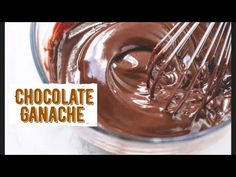 How To Make Silky & Smooth Chocolate Ganache - YouTube Ganache Recipe, Chocolate Ganache, Cake Creations, Pudding, Smooth, Cakes, Cream, Easy, Youtube