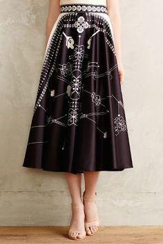 Anthropologie Sundial Skirt #anthrofave #anthropologie