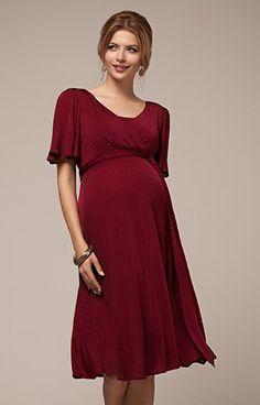 Alicia Nursing Dress Berry by Tiffany Rose ON SALE