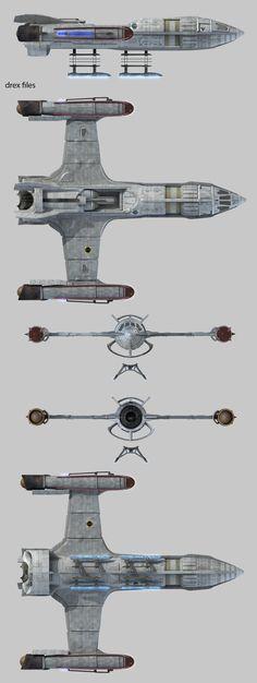 Starfleet vessel from Enterprise First starfleet ship to include the warp engine designed by Henry Archer.