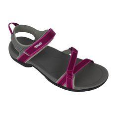 Verra sandaal dames paars grijs teva
