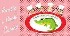 Cucina giocattolo: Serena, papà e il coccodrillo