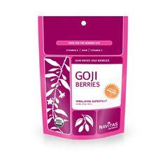 Navitas Naturals Organic Goji Berries,  1 Pound  Pouches - http://goodvibeorganics.com/navitas-naturals-organic-goji-berries-1-pound-pouches/
