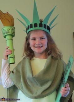 Statue of Liberty - Homemade Halloween Costume