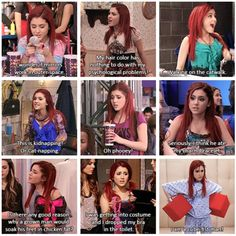 Cat Valentine ♡ shared by ariana grande on We Heart It Victorious Nickelodeon, Henry Danger Nickelodeon, Icarly And Victorious, Valentines Day Funny, Cat Valentine, Really Funny Memes, Haha Funny, Hilarious, Funny Humor