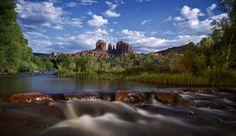 Full Moon Creek by Dustin Farrell on 500px