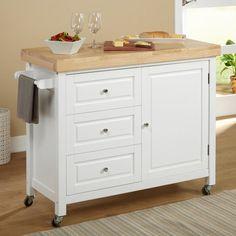 Target Marketing Systems Monterey Kitchen Cart - Kitchen Islands and Carts at Hayneedle