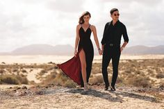 Us in the desert of Corralejo for Valentine's Day post wearing @HenryWatches today on my blog: http://larisacostea.com/2017/02/us-in-fuerteventura/