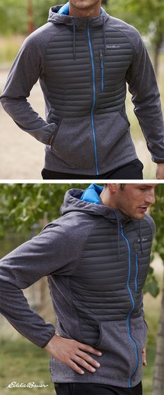 The classic zip-front hoodie takes a quantum leap forward in performance. 650 fill Premium Down provides a whole new dimension of ultralight, ultra-breathable warmth.