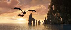 Day 17 - Favorite scene from favorite Dreamworks movie: Learning to fly (How to Train Your Dragon)