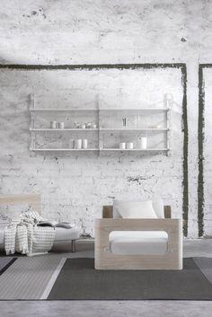 Tapio Anttila Collection –ON sofa bed, LINK shelf