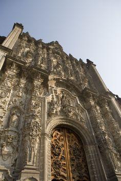 Metropolitan Cathedral in Mexico DF #Architecture #Mexico #DF #MexicoCity #LiveItToBelieveIt  #Tourism #Church #Faith