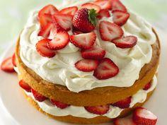 Strawberry and White Chocolate Buttercream Cake