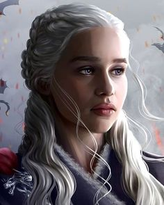 Dessin Game Of Thrones, Game Of Thrones Artwork, Game Of Thrones Books, Emilia Clarke Daenerys Targaryen, Daenerys Targaryen Art, Khaleesi, Game Of Trone, Chinese Dragon Tattoos, Dumpster Fire