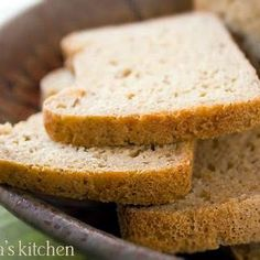 Most gluten-free bread recipes rely on eggs for texture and rise. Not this one. This gluten-free bread is tender, crusty, vegan, dairy-free, rice-free, and egg-free. ...