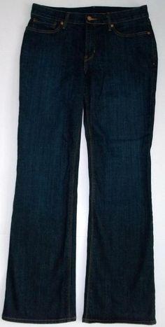 Levi's 525 Dark Wash Perfect Waist Bootcut Jeans-Womens-Sz 10 Medium #Levis #BootCut