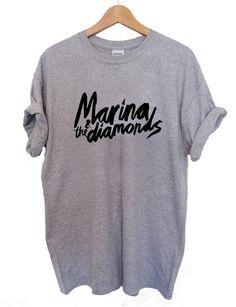 Marina and The Diamonds T Shirt Size S,M,L,XL,2XL,3XL