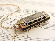 Little Lady Harmonica Necklace