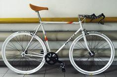 Old Peugeot Fixie rebuilt from Chris Brunner on Bike Showcase