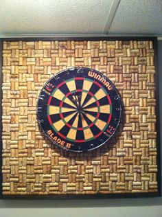 Corks For Dartboard Background Home Ideas Pinterest