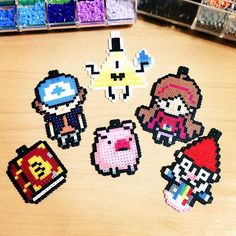 Gravity Falls perler beads by _wawcftt_