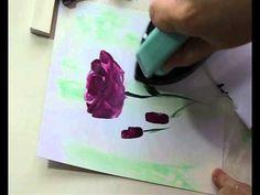 Encaustic Art Flower Painting : Roses by Art In Wax ❥Teresa Restegui http://www.pinterest.com/teretegui/❥
