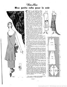 Les Modes de la femme de France | 1924-02-17 | Gallica