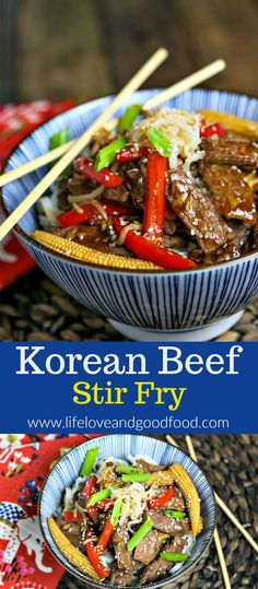 Cook thinly sliced beef quickly at high heat and you can skip the marinating time without sacrificing tenderness or flavor with this short-cut Korean Beef Stir Fry recipe. Best Stir Fry Recipe, Stir Fry Recipes, Cooking Recipes, Meat Recipes For Dinner, Paleo Dinner, Beef Dinner Ideas, Meal Ideas, Sliced Beef Recipes, Steak Recipes