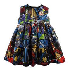 Batman Baby Dress - Metallimonsters