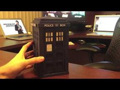 This video from Greg Kumparak shows off his TARDIS from the show Doctor Who. The TARDIS appears to be bigger on the inside when using the accompanying phone app. Dr Who, Looks Cool, Pretty Cool, Doctor Who, Making A Model, Little Corner, Don't Blink, To Infinity And Beyond, Time Lords