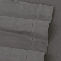 Luxury Flannel Hemstitched Solid Deep-Pocket Sheets,