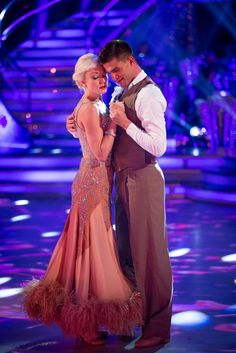 Helen and Aljaz - Strictly Come Dancing 2015 - Week 1