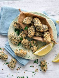 These oven baked zucchini mushroom croquettes make a healthy dinner or ...