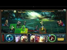 Summoners Legion - Gameplay 5 - Summoners Legion is a Free to play Collectible Card MMO Game [CCG] for Browsers