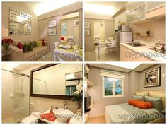 76 Condo Interior Designs Are you an OFW looking for a smart property investment Check out Small Apartment Design, Condo Design, Tiny House Design, Small Apartments, Interior Design Philippines, Condominium Interior, Condo Living Room, Best Home Interior Design, Small Condo
