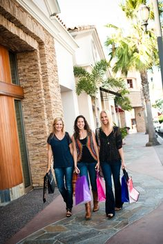 Shopping at The Forum in Carlsbad, California