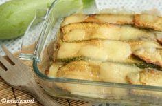 Ricetta Parmigiana di zucchine bianca