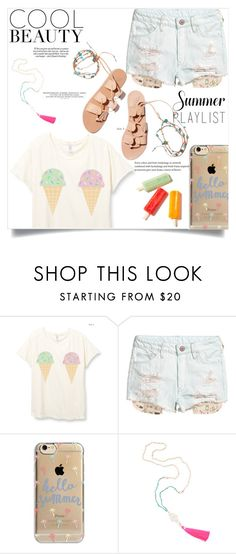 """Cool summer"" by fantasticbabe ❤ liked on Polyvore featuring Ancient Greek Sandals and Agent 18"