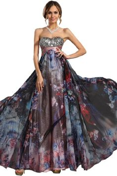 Amazon.com: eDressit New Women's Strapless Sequined Bust Prom Ball Gown Evening Dress (00096306): Clothing