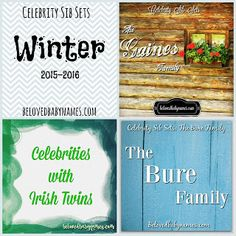 Hello everyone! It's time for another seasonal wrap-up! Winter began in late December but I. Celebrity Baby Names, Celebrity Babies, Winter Begins, Irish Twins, Names Baby, Hello Everyone, Celebrities, Celebs, Foreign Celebrities