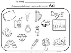 LAS VOCALES - LA LETRA Aa - (SET TWO OF FIVE) - Spanish Resource for the Letter Aa.   A set of 24 pages that focus on Aa as the initial sound for many words. 8 pages are a cut and paste format. Spanish alphabet
