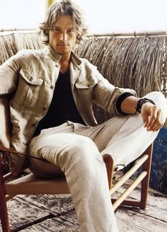 Gabriel Aubry - not a bad Mr. Cavendish :-)