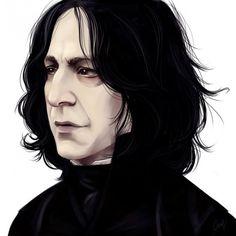 Harry Potter : les plus beaux fan arts du Professeur Rogue - LiaBatman