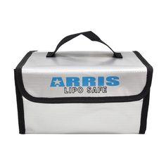 ARRIS Fire Retardant LiPo Battery Portable Safety Bag 215*155*115mm