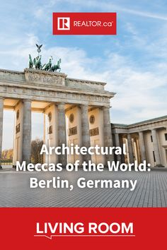 Berlin, Germany boldly looks to the future while acknowledging its past with a diverse mix of awe-inspiring architecture. Learn more about this mecca on REALTOR.ca Living Room.  #REALTORdotca #globalarchitecture #Berlin #Germany #Bauhaus #worldofarchitecture #architecture