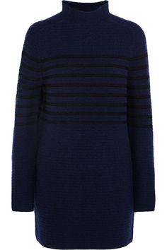 Sweater Dressed: Topshop Unique striped wool and cashmere-blend dress / Garance Doré