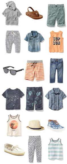 Cool (And Affordable!) Warm-Weather Clothes for Toddler Boys